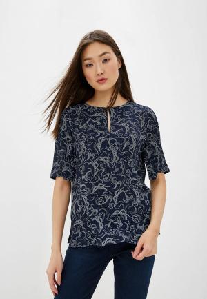 Блуза Marks & Spencer. Цвет: серый