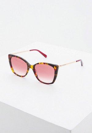 Очки солнцезащитные Love Moschino. Цвет: разноцветный