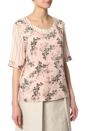 Блузка Pennyblack. Цвет: 002-pink