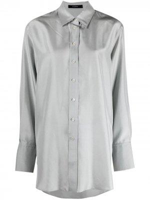 Длинная рубашка Joseph. Цвет: серый