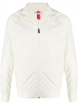 Спортивная куртка с логотипом Kappa. Цвет: нейтральные цвета