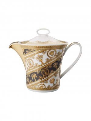 Чайник Baroque Rhapsody Versace Home. Цвет: желтый