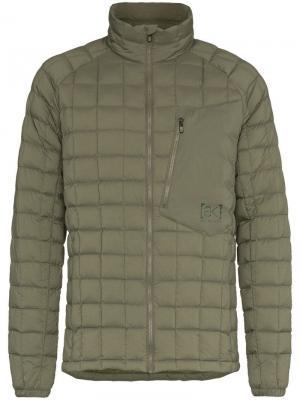 Стеганая пуховая куртка BK Lite Insulator Burton Ak. Цвет: зеленый