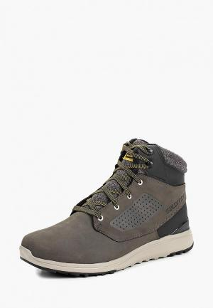 Ботинки Salomon. Цвет: серый