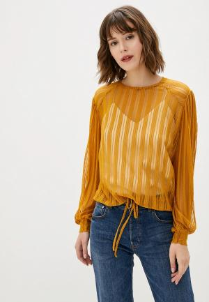 Блуза Sweewe. Цвет: желтый