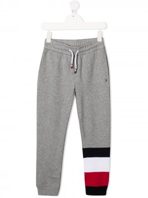 Спортивные брюки с кулиской Tommy Hilfiger Junior. Цвет: серый