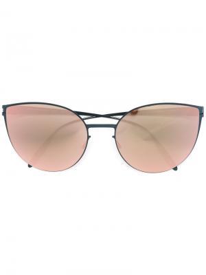 Солнцезащитные очки Beverly Mykita. Цвет: синий