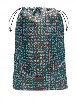 Дорожная сумка Eris с логотипом 10 CORSO COMO. Цвет: коричневый