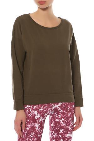 Пуловер Deha. Цвет: зеленый