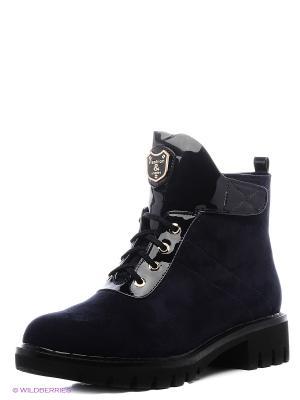 Ботинки Amazonga. Цвет: темно-синий