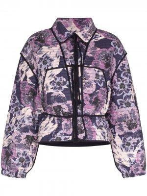 Куртка на молнии Isabel Marant Étoile. Цвет: фиолетовый