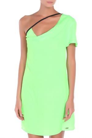 Платье CNC Costume National C'N'C. Цвет: зеленый