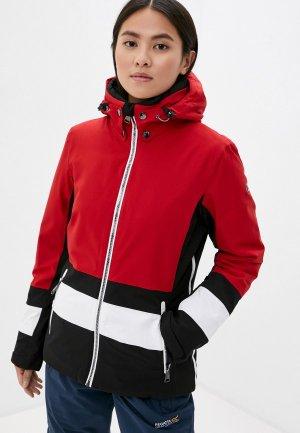 Куртка горнолыжная Luhta. Цвет: красный