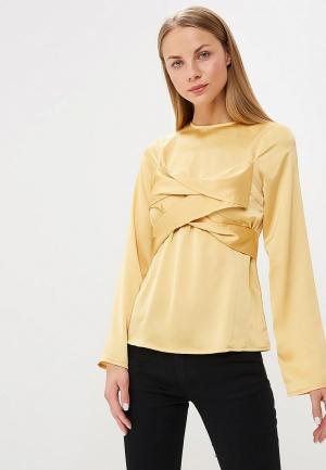 Блуза Lost Ink. Цвет: желтый
