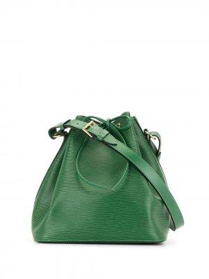 Сумка на плечо Petite Noe 1995-го года Louis Vuitton. Цвет: зеленый