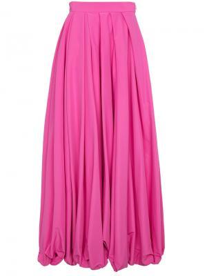 Юбка макси Rosie Assoulin. Цвет: розовый