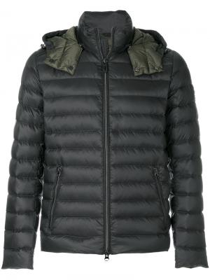 Пуховая куртка Hetregò. Цвет: зелёный