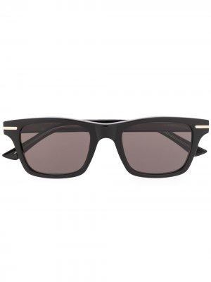 Солнцезащитные очки Kingsman в прямоугольной оправе Cutler & Gross. Цвет: черный