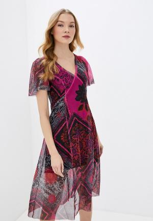 Платье Desigual. Цвет: фиолетовый