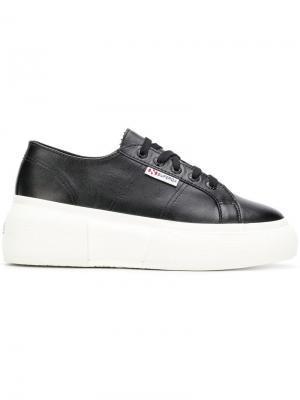 2287 platform sneakers Superga. Цвет: черный