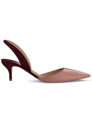 Туфли-лодочки Rhea 55 Paul Andrew. Цвет: коричневый