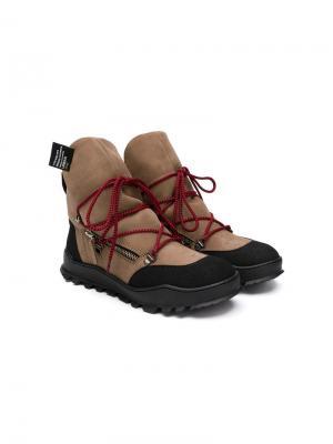 TEEN Tyson ankle boots Cinzia Araia Kids. Цвет: нейтральные цвета