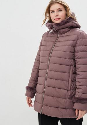 Куртка утепленная Clasna. Цвет: фиолетовый