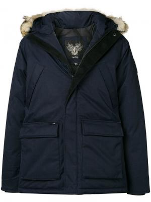 Heritage parka jacket Nobis. Цвет: синий