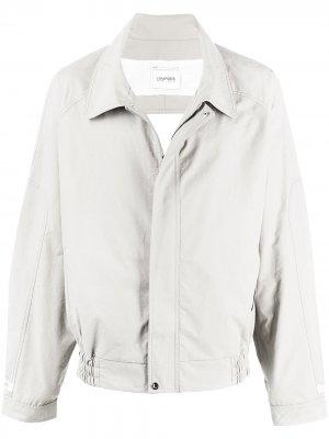 Куртка с вырезом Lourdes. Цвет: белый