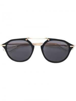 Солнцезащитные очки Kohn Dita Eyewear. Цвет: черный