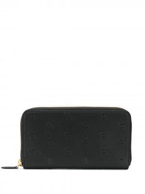 Бумажник на молнии Billionaire. Цвет: черный