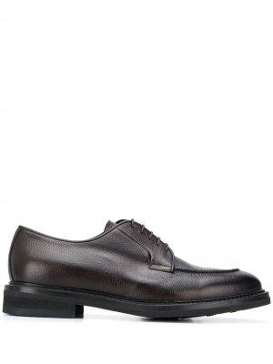 Туфли дерби на шнуровке Barrett. Цвет: коричневый