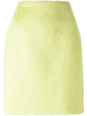Юбка прямого кроя Gianfranco Ferré Pre-Owned. Цвет: зеленый