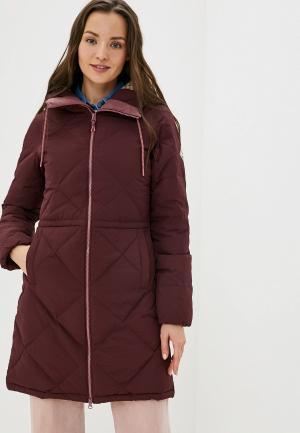 Куртка утепленная Burton. Цвет: бордовый