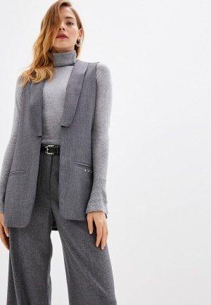 Жилет Trussardi Jeans. Цвет: серый