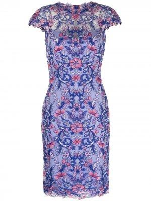 Платье Miho Tadashi Shoji. Цвет: фиолетовый