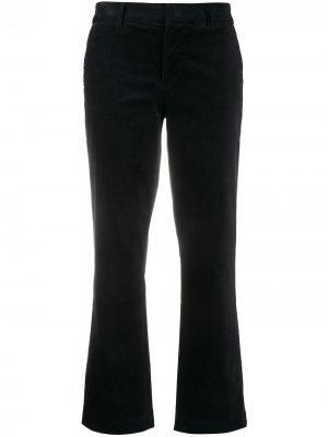 Укороченные брюки 7 For All Mankind. Цвет: синий