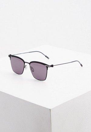 Очки солнцезащитные Montblanc. Цвет: черный