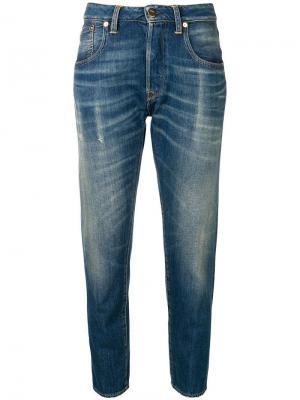 Зауженные джинсы Golden Goose Deluxe Brand. Цвет: синий