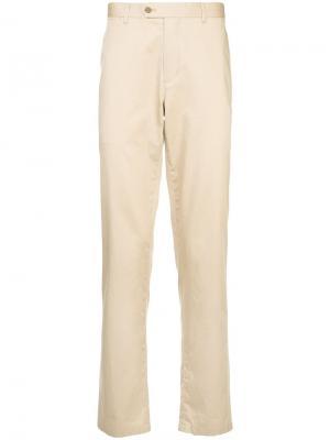 Durban прямые однотонные брюки D'urban. Цвет: коричневый