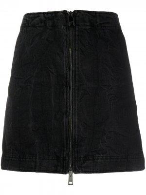 Джинсовая юбка мини Jangle Zadig&Voltaire. Цвет: черный