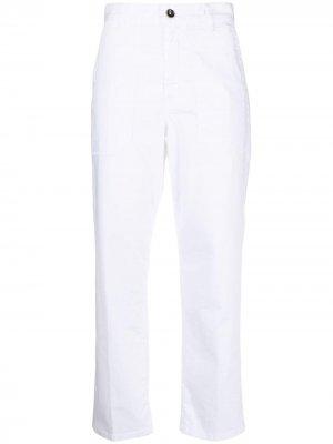 Укороченные брюки Nine In The Morning. Цвет: белый