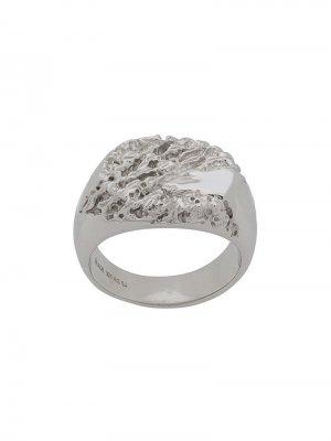 Перстень Rock Maria Black. Цвет: серебристый