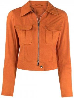 Укороченная куртка Desa 1972. Цвет: оранжевый