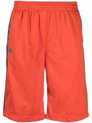 Спортивные шорты Elon с логотипом Kappa. Цвет: оранжевый