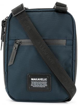 Мини-сумка через плечо Makavelic. Цвет: синий