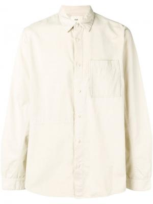 Pointed collar shirt Folk. Цвет: нейтральные цвета