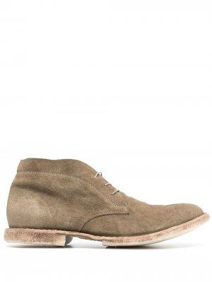Ботинки на шнуровке MOMA. Цвет: зеленый