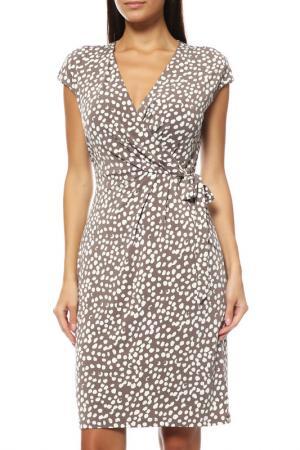 Платье Comma. Цвет: серый