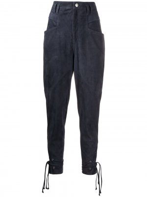 Зауженные брюки Ubaia Isabel Marant. Цвет: синий